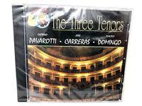 The Three Tenors : Luciano Pavarotti - Jose Carreras - Placido Domingo -Music CD