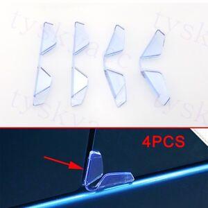 4X Universal Car Door Edge Guard Trim Molding Protection Strip Scratch Anti-Rub