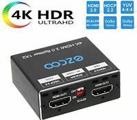 HDMI Splitter 1x2 4K 60Hz 4:4:4 HDR Dolby Vision Dolby Atmos, HDMI Splitter