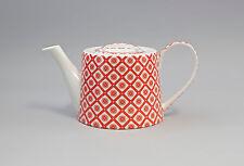 9952279 Porzellan Tee-Kanne Blümchen rot Jameson&Tailor 1,2l H12cm