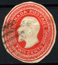 Canada 1903-12, 2c KEVII Stationery Cut-Out #D45226