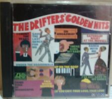 The Drifters' Golden Hits including Under the Boardwalk, Up On the Roof. CD
