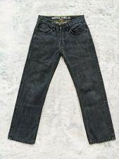 "Nautica Jeans Co Size 12 Boys Straight Blue Denim Dark Wash 25"" Inseam Jeans EUC"