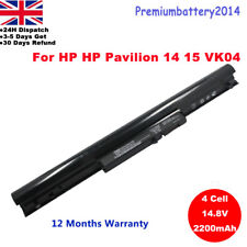 Battery for HP Pavilion Sleekbook 14 15 VK04 695192-001 694864-851 H4Q45A 4 Cell
