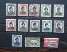 Brunei 1952 - 58 to $2 Used