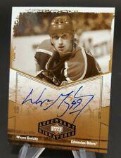 2004-05 UD Legendary Signatures Autographs #WG Wayne Gretzky Hard Signed