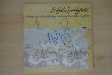 """Neil Young Autogramm signed LP-Cover """"Buffalo Springfield"""" Vinyl"""