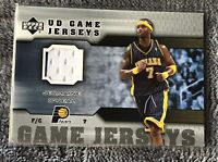 2005-06 Upper Deck UD Game Jersey Jermaine O'Neal Pacers