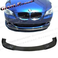 For 04-10 BMW E60 5-Series 528i 550i M-Tech Sedan Carbon Fiber H Type Bumper Lip