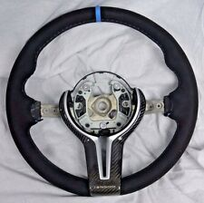 BMW OEM F85 X5 M F86 X6 M Performance Alcantara & Carbon Steering Wheel NEW