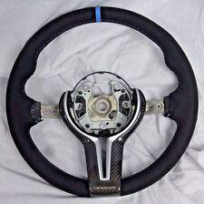 BMW OEM F85 X5 M F86 X6 M Performance Alcantara & Carbon Steering Wheel NEW
