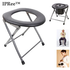 Portable Folding Mobility Aid Shower Bathroom Bedside Toilet Stool Chair Seat