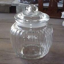 Bonbonnière boîte pot en verre ancien verre,style maison de campagne / rétro