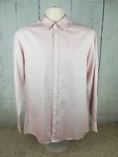 "Men's St George by Duffer 15 1/2"" Collar Check Long Sleeve Shirt Medium/M #A1"