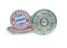 FC Bayern München Pin Anstecker Fussball Deutscher Meister 2015 Bundesliga #529