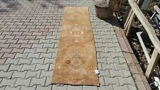 Turkish Rug Runner 2'1x9'2 ft,Runner Rug,Orange,Rug,Runner,Vintage,Hand Knotted