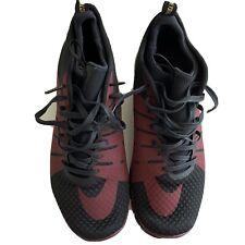 Nike Free Hypervenom 2 FC 747140-006 New Mens Black Athletic Shoes Size 12