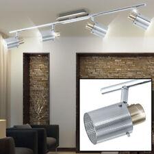 Éclairage plafonnier spots mobiles luminaire plafond verre chrome lampe couloir