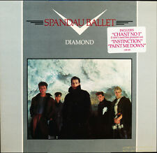 Spandau Ballet Diamond Chrysalis CHR 1353 Promo LP OPEN