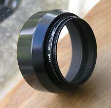 Genuine temprano Asahi Pentax Auto Takumar Lens Hood 55mm Tornillo en para 85 1.8