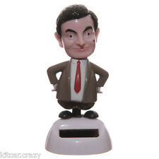 NOVELTY SOLAR POWERED DANCING MR BEAN, DASHBOARD TOY, HOME OR CAR