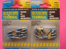 20 PRIMARY GROUND COPPER WIRE QUICK DIS CONNECTORS TERMINALS GOLD PLATED 16-14G