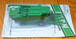 Boley HO #185-20555 Combine w/Corn Head  -- green