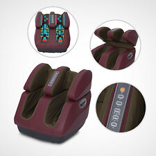 Beautician Leg Foot Massager Calf Ankle Body Relaxation Heating Kneading Rolling