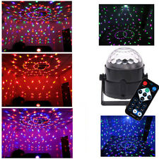 RGB DJ Disco Party Magic Ball LED Crystal Effect Light Stage Lighting w/Remote