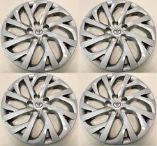 "4 Hub Caps 2017- 2019 fit Toyota Corolla 16"" Full Set Wheel Cover fit Steel Rims"