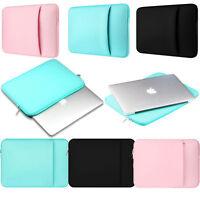 "New Laptop Sleeve Bag Case For 11"" 13"" 15"" 15.6"" MacBook Air Pro Retina Ipad Air"