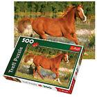 TREFL 500 pezzi adulto grande Pavimento Horse BELLEZZA CAMPO Gallop Puzzle NUOVO
