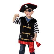 Melissa & Doug Let's Pretend Set Pirate Halloween Costume 3-6 Years Boy or Girl