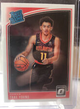 2018-19 Panini Optic Trae Young Rated Rookie Base Atlanta Hawks RC