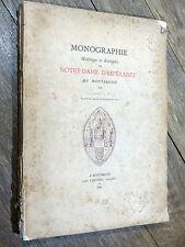 E. Rey - Monographie de Notre-Dame d'Espérance de Montbrison 1885 FOREZ Loire