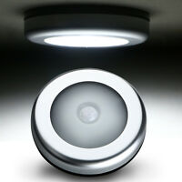 6LED Cabinet Light Auto PIR Kitchen Wardrobe Cupboard Closet Motion Sensor Lamp