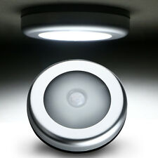 6LED Cabinet Light Auto PIR Kitchen Wardrobe Cupboard Closet Motion Sensor Lamp