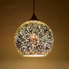 Modern Glass Ball Ceiling Pendant Lamp Light Hanging Chandelier Fixtures Decor