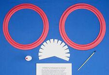 "Cerwin Vega 12"" / D-5 / D-6 / D-7 / DX-5 DX-7 Speaker Foam Surround Repair Kit"