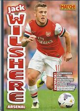 MATCH!-POSTER 2013/14-ARSENAL & ENGLAND-JACK WILTSHIRE