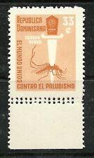 DOMINICAN REPUBLIC, - ERRORS - WHO MALARIA 1962  Scott  C121