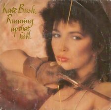"""45 TOURS / 7"""" SINGLE--KATE BUSH--RUNNING UP THAT HILL / RU UNDER THE IVY--1985"""
