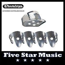 DUNLOP - 4 FINGER PICKS & THUMB PICK for BANJO, GUITAR, RESONATOR, ACOUSTIC