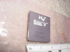 Intel 80486 CPU A80486SX-25 486SX Processor - 1989