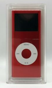 APPLE iPod Nano - RED Special Edition - A1199 - 4GB 1000 songs PC + Mac - SEALED