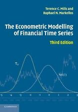 The Econometric Modelling of Financial Time Series: By Mills, Terence C., Mar...
