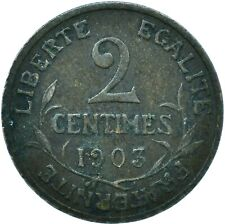 More details for 1903 / 2 centimes france very nice  #wt24421