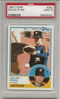 1983 TOPPS #360 NOLAN RYAN, PSA 9 MINT, HOF, HOUSTON ASTROS, L@@K !