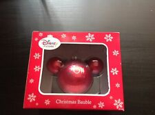 """DISNEY STORE CHRISTMAS BAUBLE CAST EXCLUSIVE 2011 """"BRAND NEW AND UNUSED"""""""