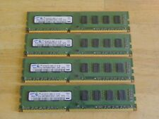 Samsung DDR3 PC3-8500 PC3-8500U M378B5673EH1 Desktop Memory LOT (4) x 2GB = 8GB